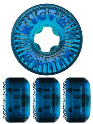 Ricta Optix Clear Blue Wheels