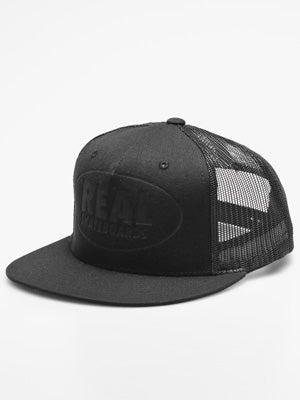 Real Conceal Trucker Hat Black Adjustable