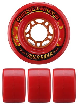 Road Rider Red Giants 80a Wheels