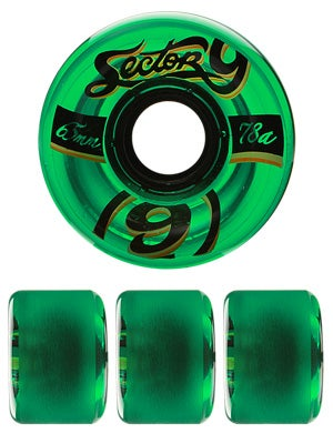 Sector 9 Nineballs 65mm Green Wheels