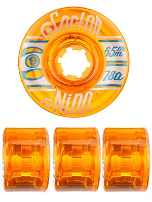 Sector 9 Nineballs 65mm Orange Wheels