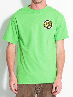 Santa Cruz Simpsons Homer One Tee Lime Green SM