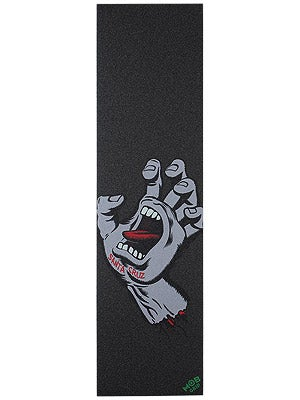 Santa Cruz Screaming Hand Griptape by Mob Grey