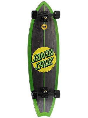 Santa Cruz Woody Shark Green Complete 10 x 36