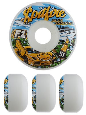 Spitfire F1 Streetburner Johnson Billionare Wheels