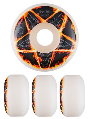 Spitfire Pentagram Wheels 52.666mm