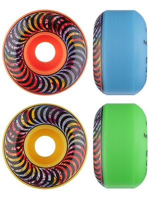Spitfire Classic Tie Dye Neon Mash Up Wheels