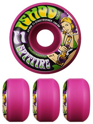 Spitfire F1SB Wair Ass Cash or Grass Purple Wheels