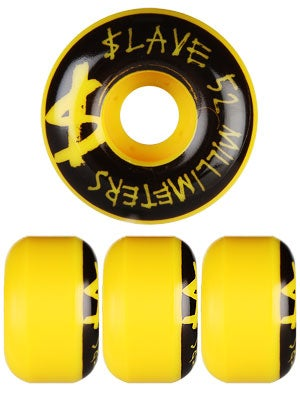 Slave Money Yellow Wheels 52mm
