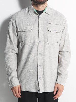 SUPERbrand Classic Flannel Shirt Grey MD
