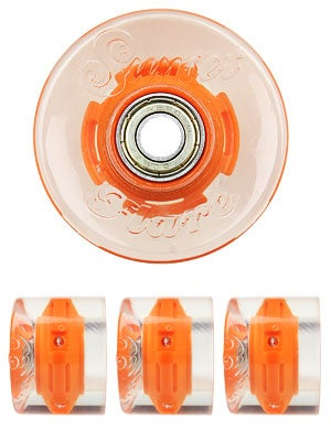 Sunset Flare Orange LED Wheels  59mm