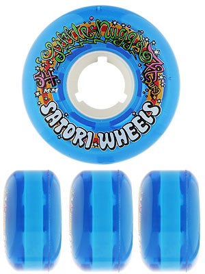 Satori Lil' Blue Nugs 78a Wheels 54mm