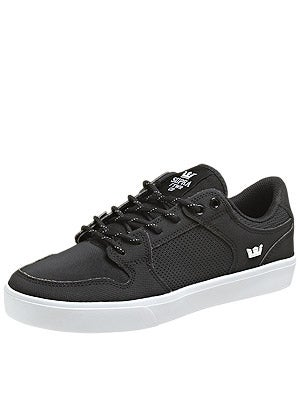 Supra Vaider LC Shoes  Black/White