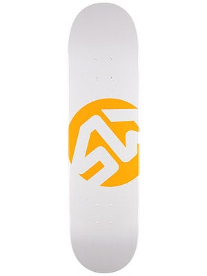 Skate Warehouse Dot Icon White Deck 8.25 x 32.12