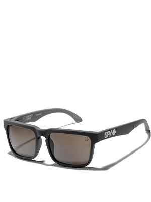 Spy Helm Blk-Happy Brz Polarized/Black Mirror