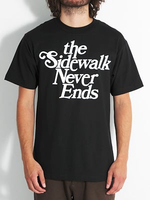 Tribute Sidewalk Tee Black SM