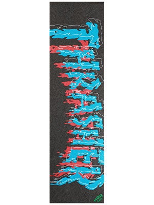 Thrasher Drip Griptape by Mob  Blue