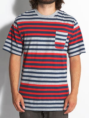 The Hundreds Eve Pocket Tee Red MD