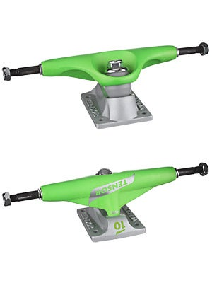 Tensor Mags 10 Lo Flick Trucks Green 7.75
