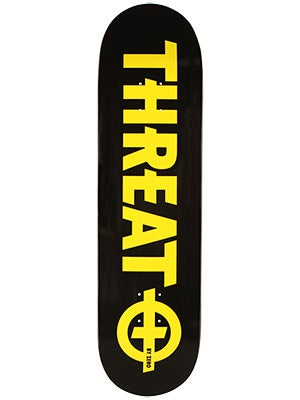 Threat by Zero Standard Yellow Deck  8.375 x 32.375