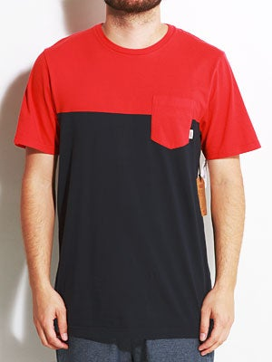 Vans Burke Pocket Tee Red SM