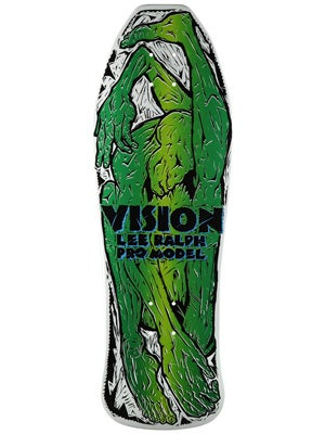 Vision Lee Ralph White/Green Deck 10.25 x 33.75