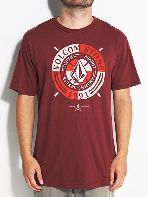 Volcom Collected Tee Brick LG