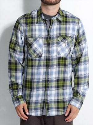 Volcom Slicker L/S Shirt Green MD