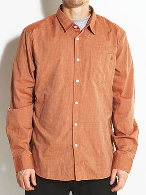 Why Factor End On L/S Woven Shirt Copper/COP SM