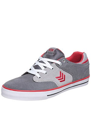 Vox Lockdown Shoes  Grey/Red/White