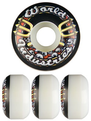 World Industries Skull Team Logo Wheels