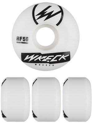 Wreck W2 Square Cut White Wheels