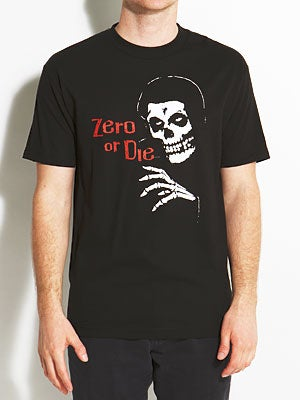 Zero Crimson Tee Black XL