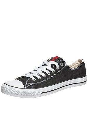 Zero Low Top Shoes  Black