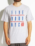 5Boro NYC Grid T-Shirt