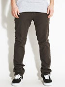 Ambig Doolittle Slim Twill Pants  Lt. Black