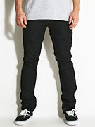 Ambig Nuts & Bolts Gripper Jeans  Black