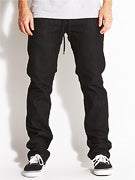 Ambig Nuts & Bolts Straight Jeans  Black