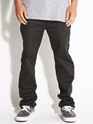 Altamont Davis Slim Chino Pants  Worn Black