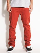 Altamont Davis Slim Chino Pants  Rust