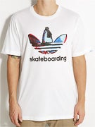 Adidas Skate Watercolor Logo T-Shirt
