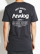 Analog The Goods Front and Back T-Shirt