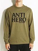 Anti Hero Black Hero Longsleeve T-Shirt