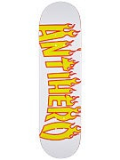 Anti Hero Flaming Skate Co. LG Deck 8.62 x 32.56