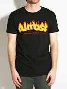 Almost Flaming Logo T-Shirt