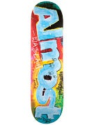 Almost Haslam Paint Scraps Deck  8.375 x 31.8