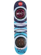 Almost Mullen Water Color Impact Deck 7.6 x 31.3