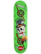 Almost Willow Dirty Skulls Dbl. Impact Deck 8.1 x 31.8