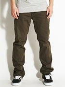 Altamont Wilshire 5 Pocket Pants  Coffee