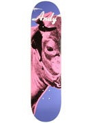 Alien Workshop Warhol Cow Icon Left Deck  8 x 32